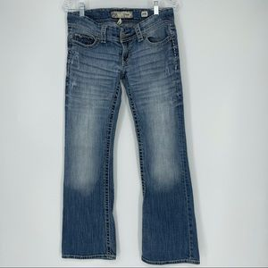 BKE Womens Flare Jeans 29R X 31 1/2 Buckle ABK405